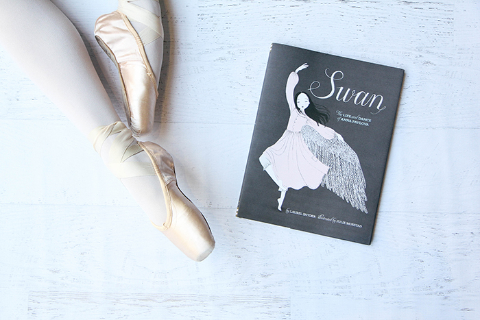 Storykins // Swan by Laurel Snyder (Author), Julie Morstad (Illustrator), Irene Kim (photography)