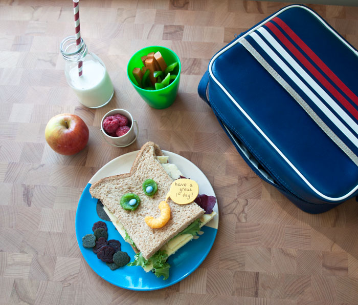 Babiekins Magazine | Recess And Refuel | First Day At School Lunch